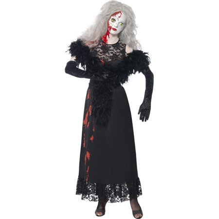 Smiffys Hollywood Living Dead Doll Zombie Actress Halloween Costume (Living Doll Halloween Costume)