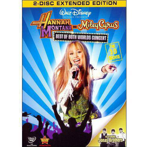 Hannah Montana And Miley Cyrus: The Best Of Both Worlds Concert - The 3D Movie (Widescreen, Full Frame)