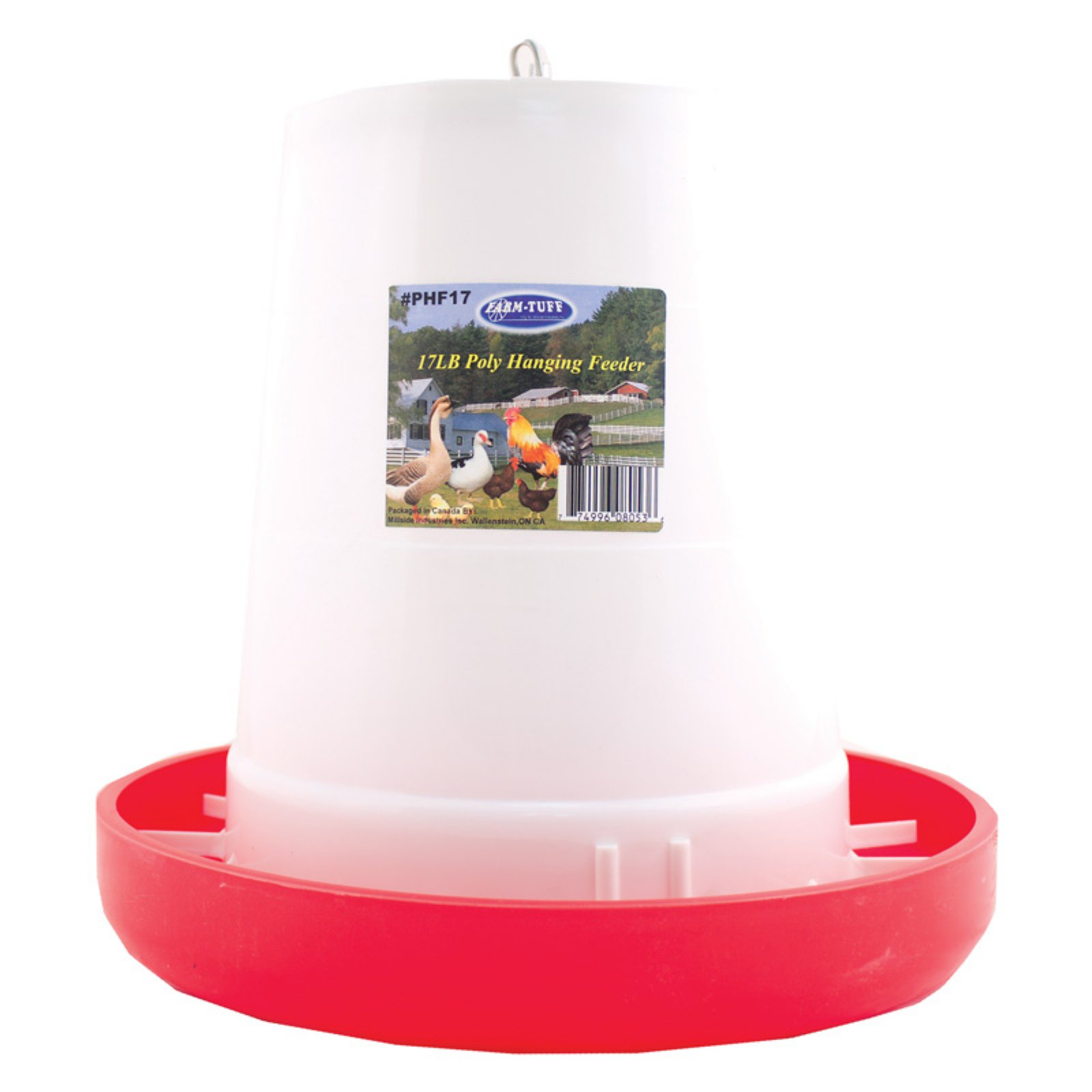 Millside Industries Plastic Poultry Feeder - 6 lb. capacity
