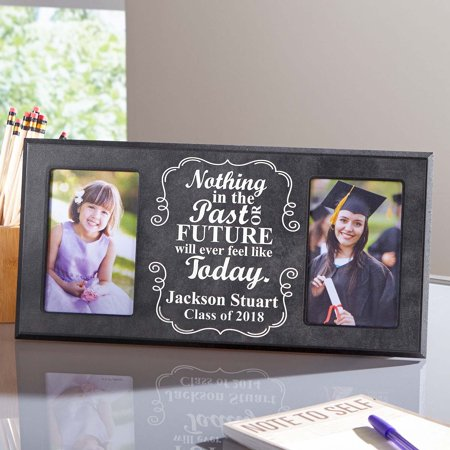 Personalized Then And Now Graduate Frame 16 X 8 Walmartcom