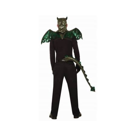 Green Dragon Tail Halloween Costume Accessory - Dragon Rider Halloween Costume