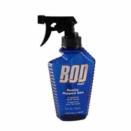 Contemporary Body Spray - Bod Man Really Ripped Abs Fragrance Body Spray 8oz / 236ml