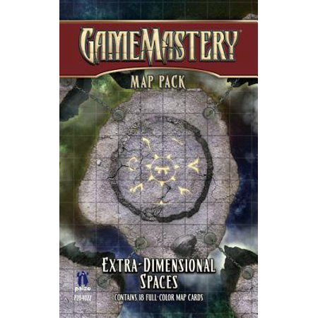 Gamemastery Map Pack: Extradimensional Spaces (Gamemastery Flip Map)