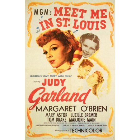 Meet Me in St. Louis (1944) 11x17 Movie Poster