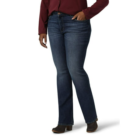 Lee Rider's Women's Plus Size Midrise Bootcut