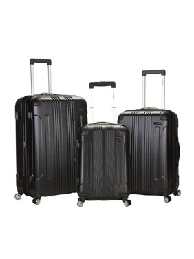 Rockland Luggage Sonic 3 Piece Hardside Spinner Luggage Set