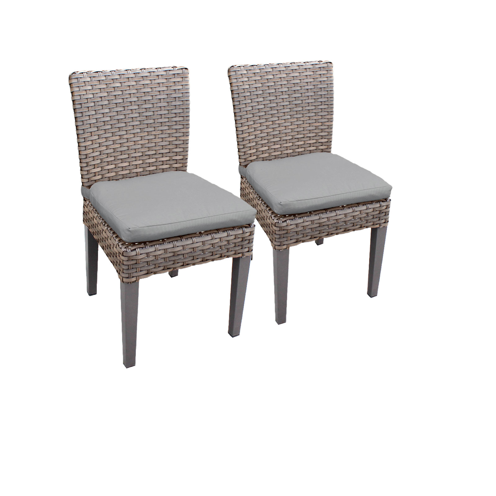 Harmony Rectangular Outdoor Patio Dining Table With 8 Chairs by TK Classics