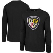 Baltimore Ravens '47 Imprint Club Long Sleeve T-Shirt - Black