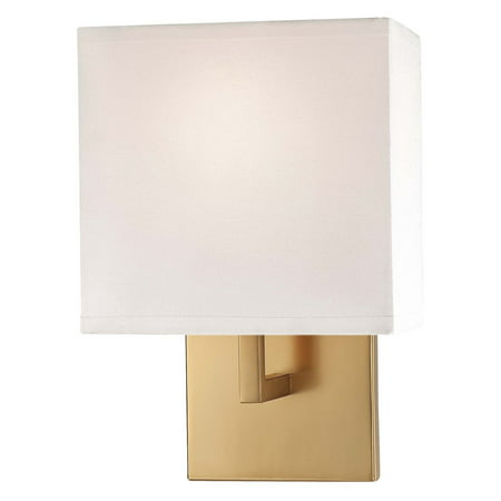 Ada Wall Sconce Height (George Kovacs ADA 1-Light Wall Sconce - 7W in. Honey Gold )