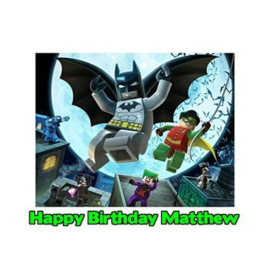 Lego Batman Cake Toppers