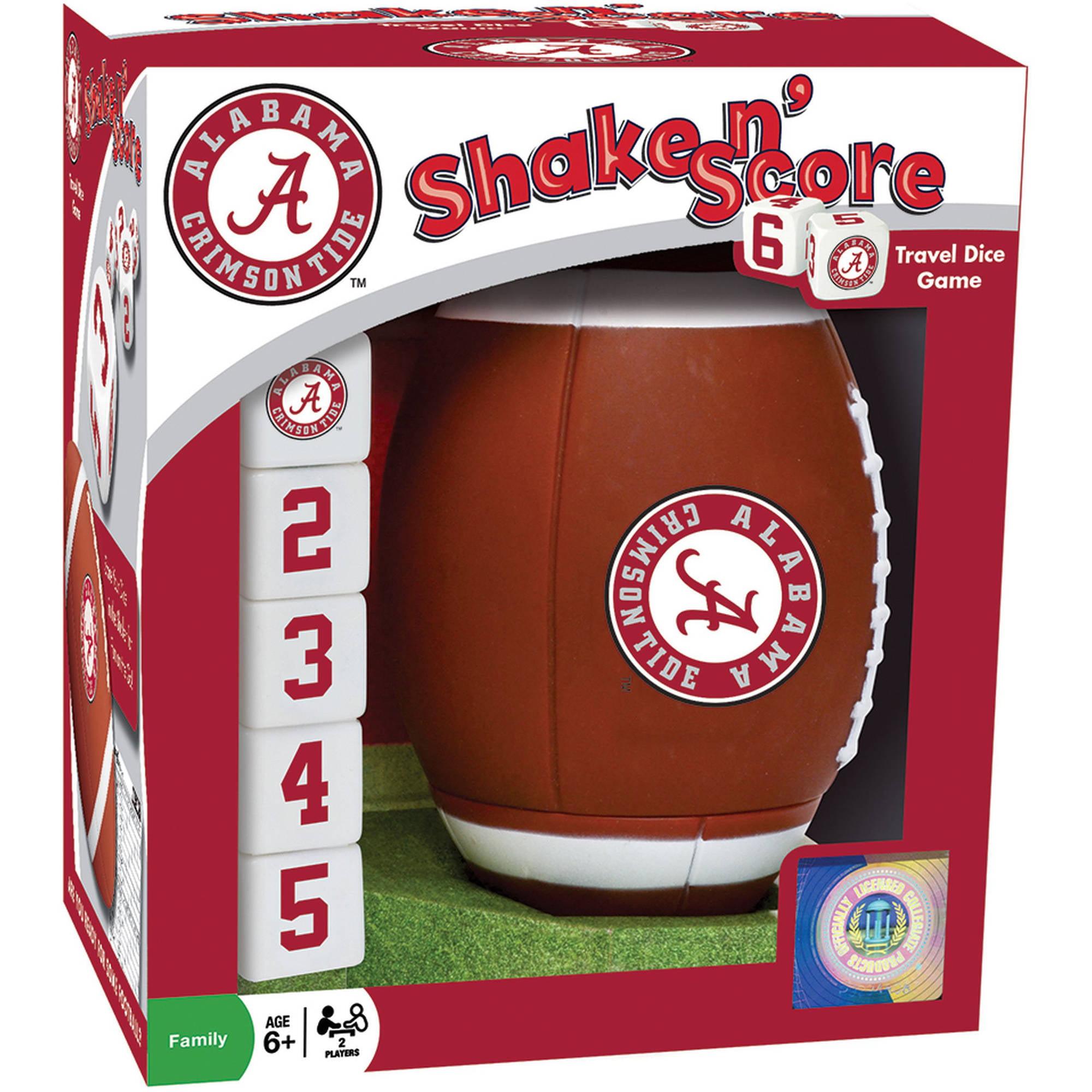 MasterPieces NCAA Alabama Shake n' Score Dice Game by Generic