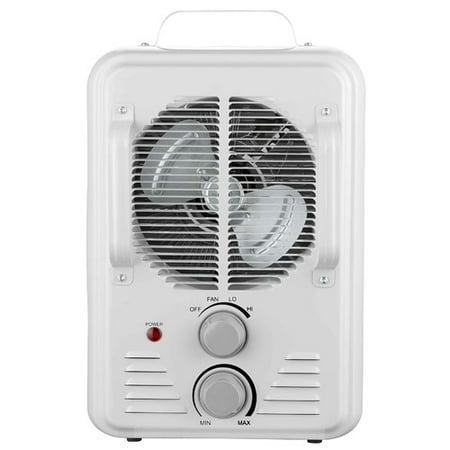 Pelonis hv 1004 900 1500 watt white milkhouse utility for Pelonis heater
