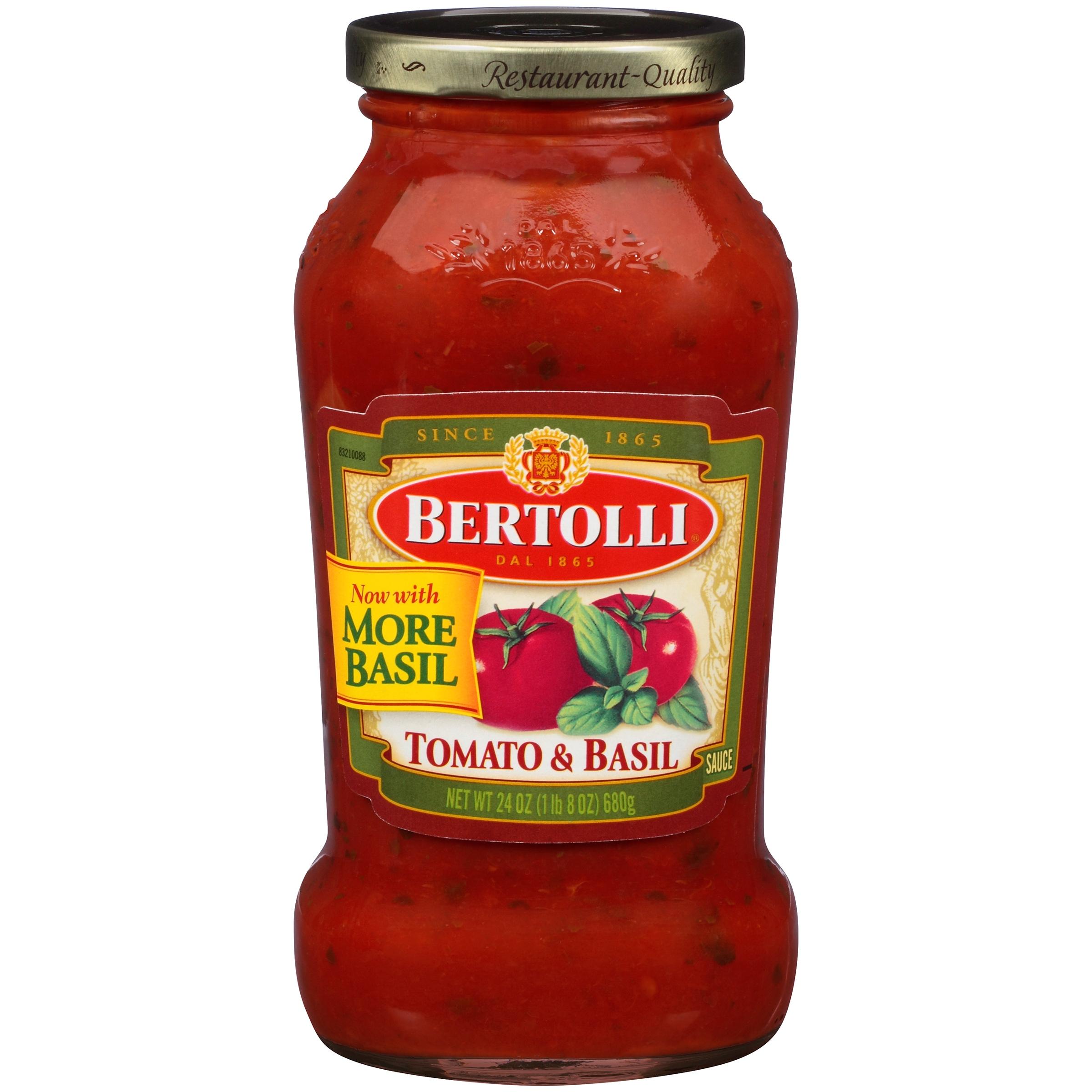 Bertolli Tomato & Basil Pasta Sauce 24 oz.