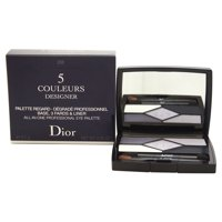 5 Couleurs Designer All-In-One Professional Eye Palette - # 208 Navy Design by Christian Dior for Women - 0.2 oz Palette
