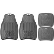 Michelin 4-Piece All-Weather Floor Mat Set, Gray