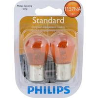 Philips Standard Miniature 1157NA, Pack of 2
