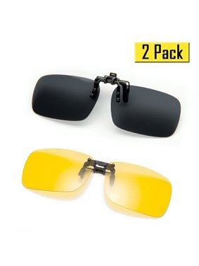 757f5112de3 Product Image Cyxus  2 Pack  Polarized Lenses Classic Clip-On Sunglasses