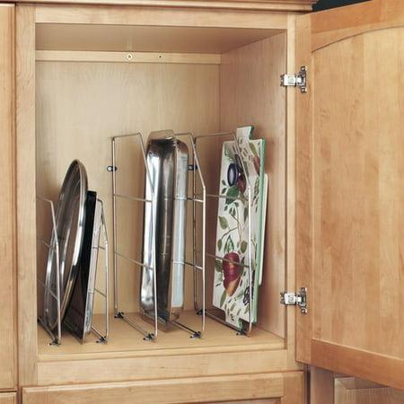 - Rev-A-Shelf Tray Divider 12 inch - Chrome 597-12CR-50