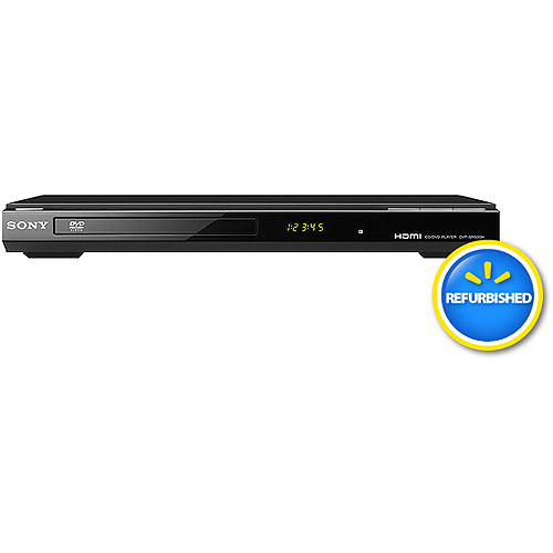Sony DVP-SR101P DVD Player with Progressive Scan, Refurbished