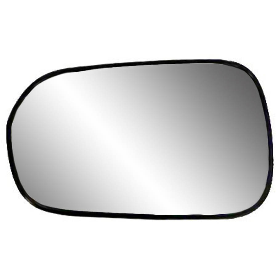 88087 Fit System 99 02 Replacement Mirror Glass With Backing Plate