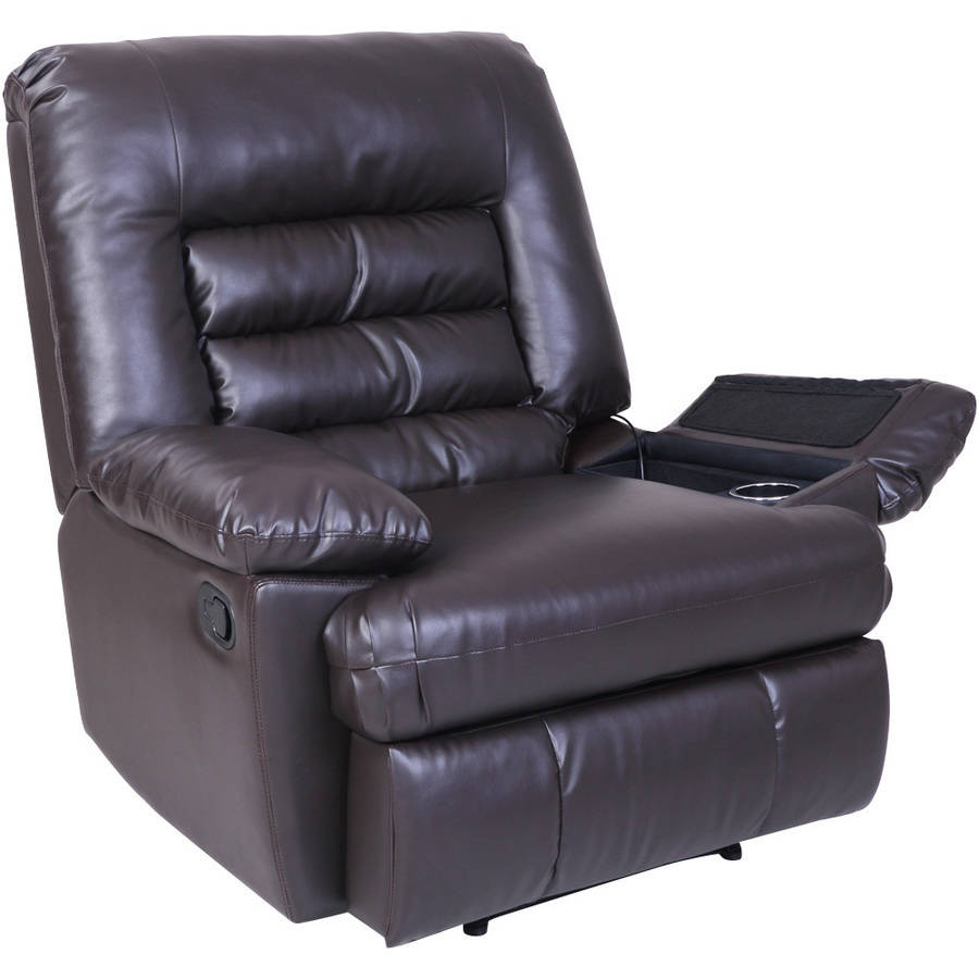 Serta Big Tall Memory Foam Massage Recliner Multiple