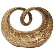 Casa Cortes Abstract Looped Polystone Sculpture