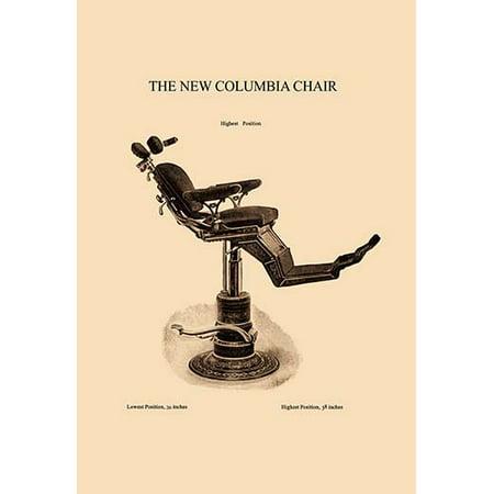 - The New Columbia Chair Fine art canvas print (20