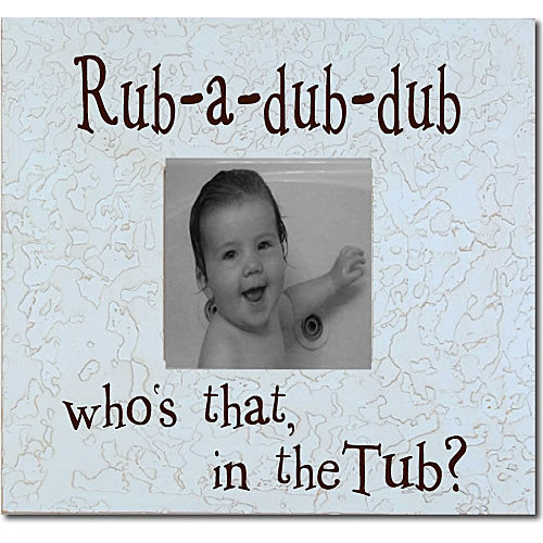 Forest Creations Rub-A-Dub-Dub... Picture Frame