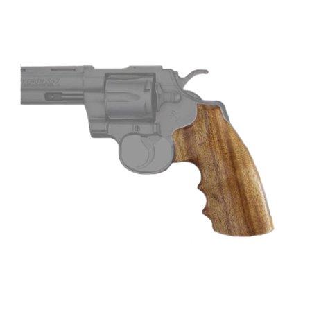 - Hogue Wood Grip Goncalo Alves Colt Python I Frame