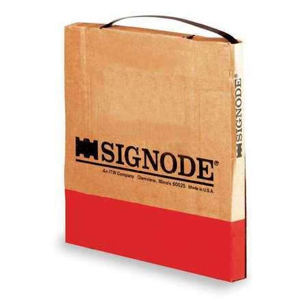 """SIGNODE 1/2X0.017"""" APEX PLUS COIL Steel Strapping, 17 mil, 300 ft. L"""