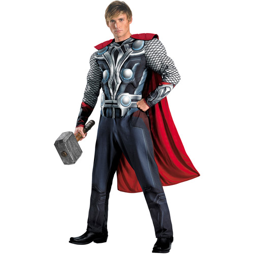 Thor Avengers Classic Muscle Adult Hallo