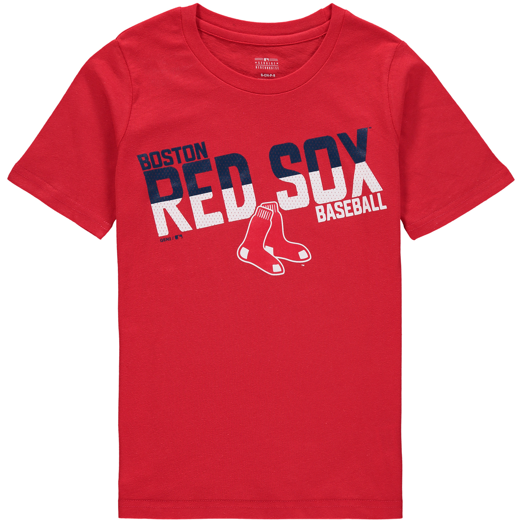 Boston Red Sox Youth Alternate All Meshed Up T-Shirt - Red