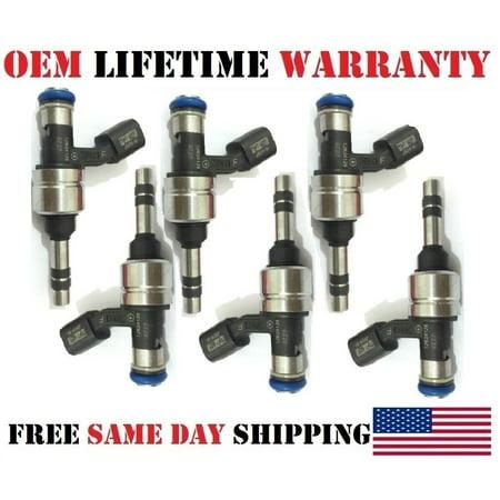 Oem Limit (x6 OEM ACDelco #12634126 Fuel Injectors for 2014-2015-2016 Chevrolet Impala Limited 3.6L V6 /Refurbished/)