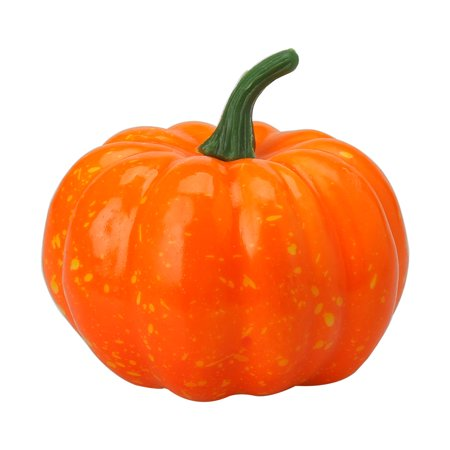 Home Artificial Foam Pumpkin Vegetables Decoration 85mm Dia - Dia Das Bruxas Halloween Colorir