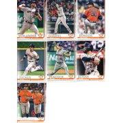 2019 Topps Series 1 Baseball Houston Astros Team Set of 12 Cards