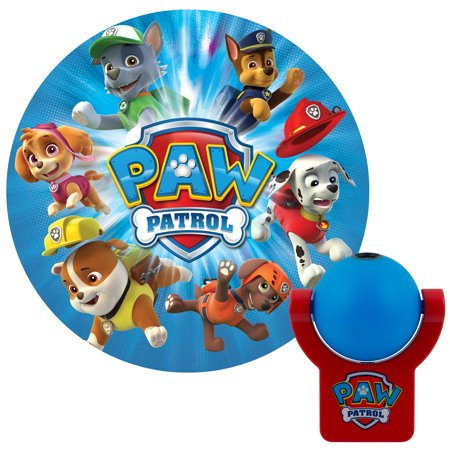 - Projectables Nickelodeon Paw Patrol LED Plug-In Night Light, 30604
