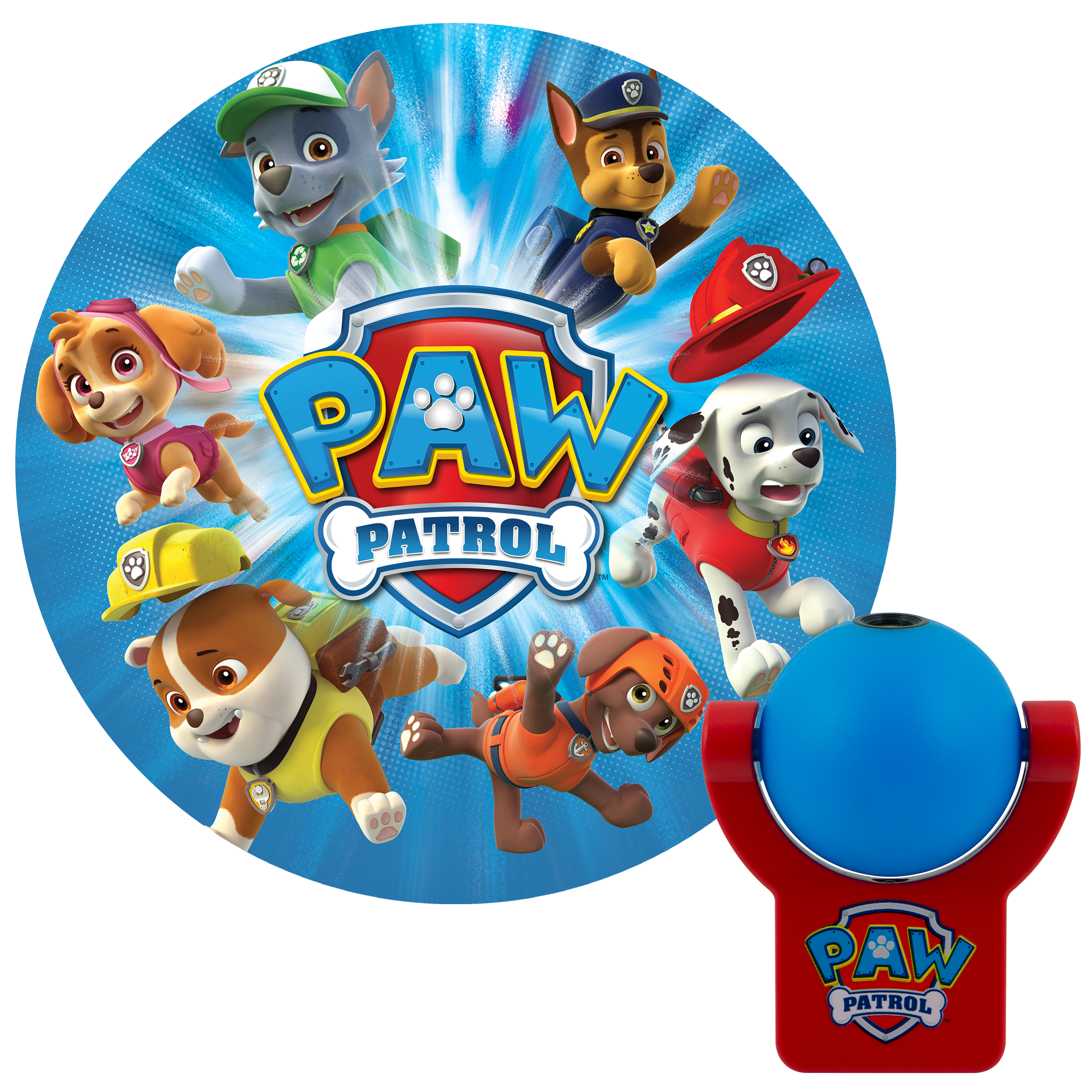 Projectables Nickelodeon Paw Patrol LED Plug-In Night Light, 30604