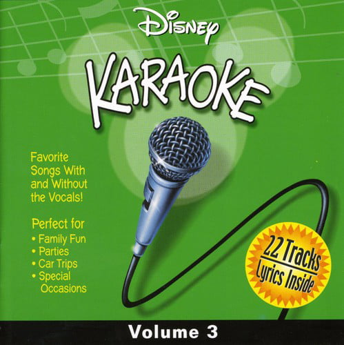 Disney Karaoke Volume 3 (CD) by Disney