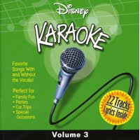 Disney Karaoke Volume 3 (CD)