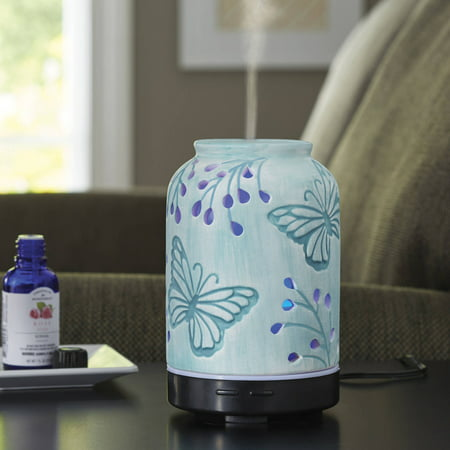 Better homes and gardens essential oil diffuser tranquil butterfly ebay Better homes and gardens diffuser