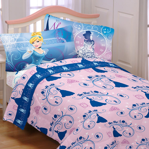 Disney Cinderella Secret Princess Sheet Set