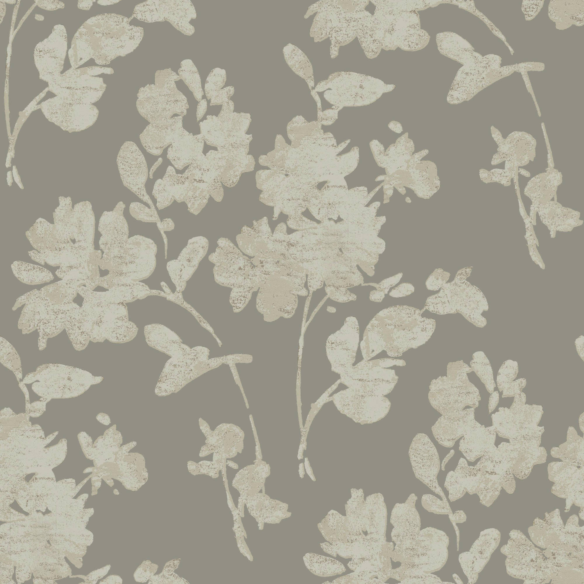 Glam Floral Spot Wallpaper