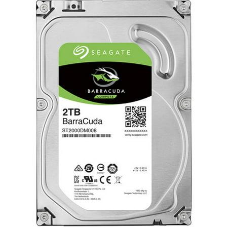 Seagate ST2000DM008 BarraCuda 2TB 3.5 SATA HDD 7200 256MB