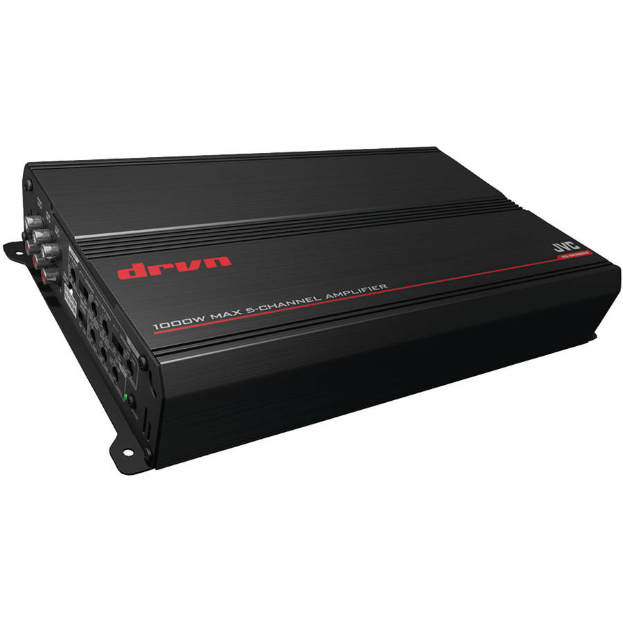 JVC KS-DR3005D DRVN DR3 Series 1,000-Watt 5-Channel Class D Power Amp