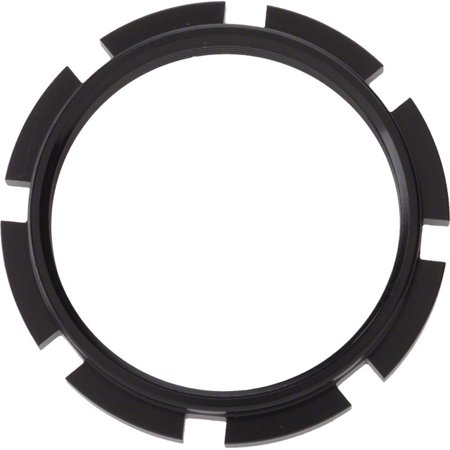 BOX Components Edge 8 Prong Lockring Black ()
