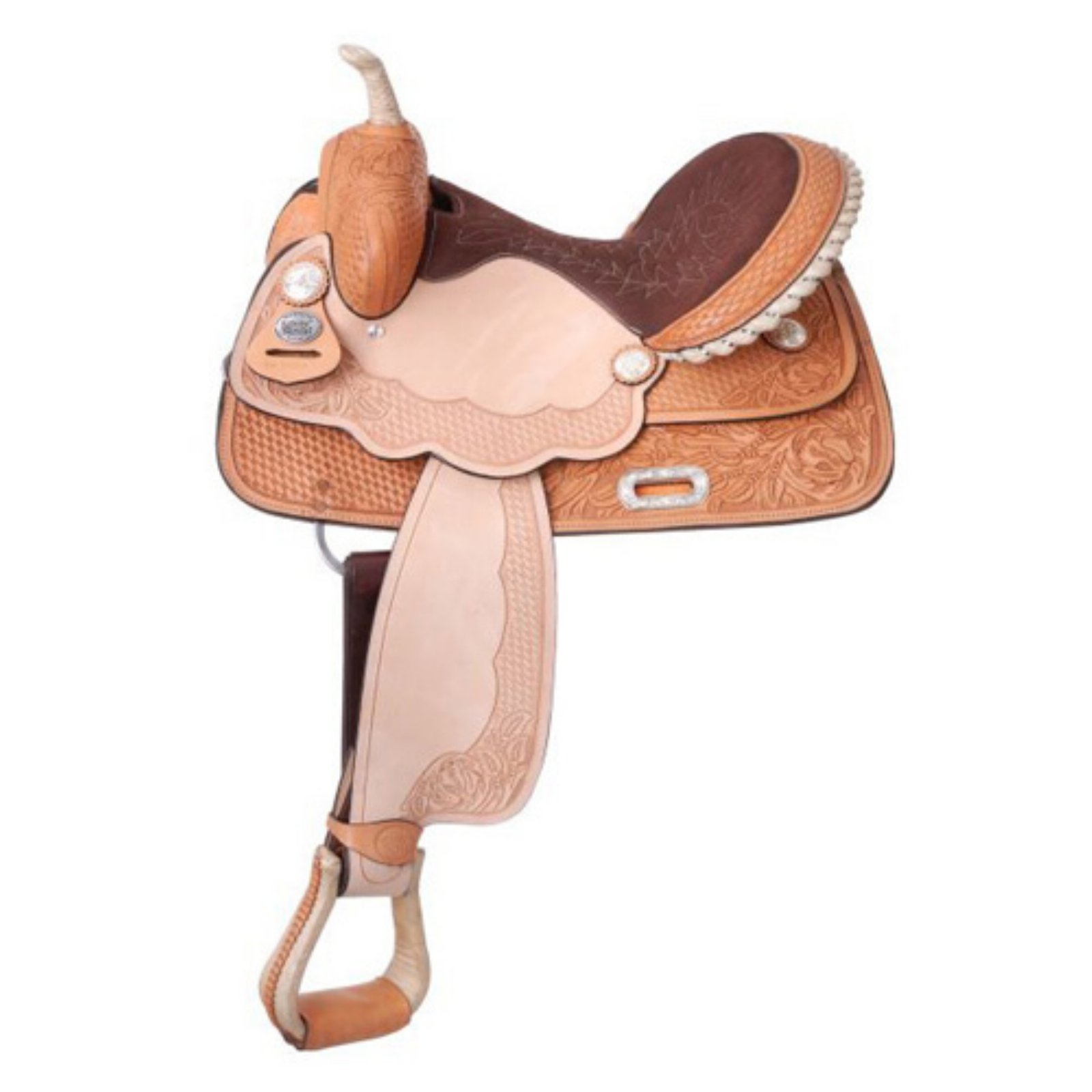 Silver Royal La Mesa Barrel Saddle