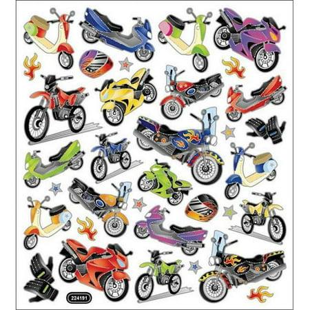 Mania Sticker - Multicolored Stickers-Motorcycle Mania