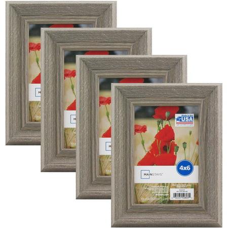 Mainstays Graywash Frame, Set of 4 - Multiple Sizes available ...