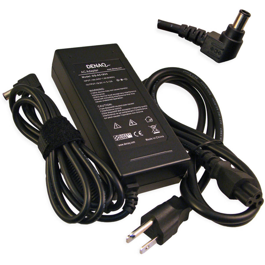 DENAQ 19.5-Volt 5.13-Amp 6.0mm-4.4mm AC Adapter for Sony PCG Series Laptops