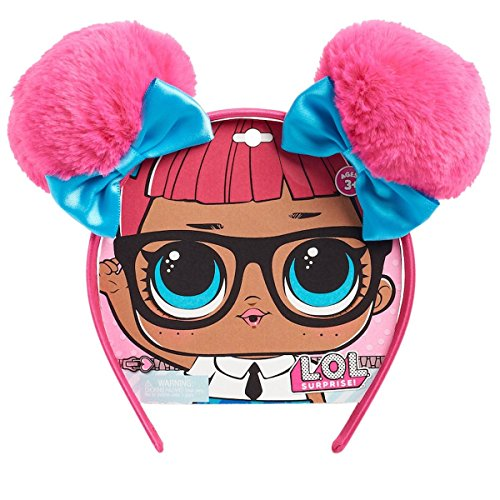 LOL Surprise! Teachers Pet Pink Poms Double Pom Headband